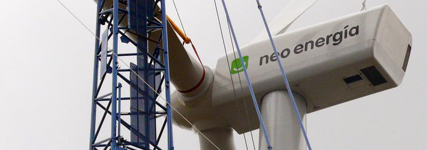 Montaje electromecánico de aerogeneradores - Inmela Servicios Eléctricos